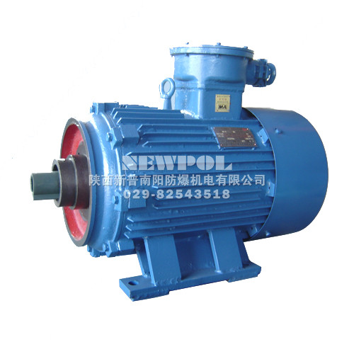 YBJ Series Explosion-proof 3-phase Induction Motors for Winch Use