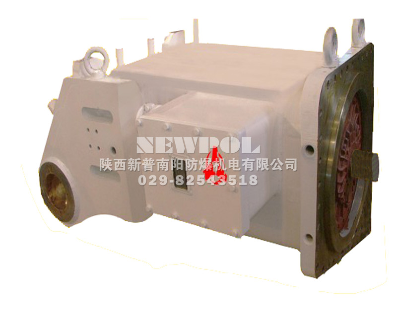 YBU, YBUS, YBUD Series Explosion-proof 3-phase Induction Motors for Tunnel Boring Machines