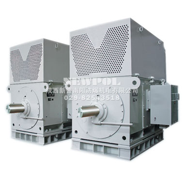 YKS系列6KV、10KV空—水冷却三相异步电机